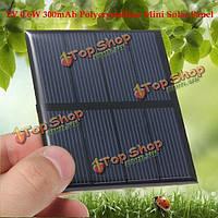 2v 0.6W 300мА 82x70x3.0мм поликристаллического кремния панели солнечных батарей эпоксидной смолы