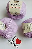 Gazzal Baby Wool - 823 сиренево-розовый