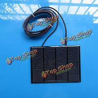 12v 1.5w Mini солнечная панель небольшой модуль сотового эпоксидной зарядное устройство с 1м сварочной проволоки