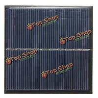 5V 175ma 0.87w 84x84x3.0мм поликристаллического мини-панели солнечных батарей фотоэлектрические панели