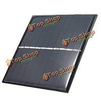 5V 0.8W 160мА 80x80x3.0мм поликристаллического кремния панели солнечных батарей эпоксидной смолы
