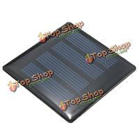 2v 0.18w 90мА 60x60x3.0мм поликристаллического кремния панели солнечных батарей эпоксидной смолы