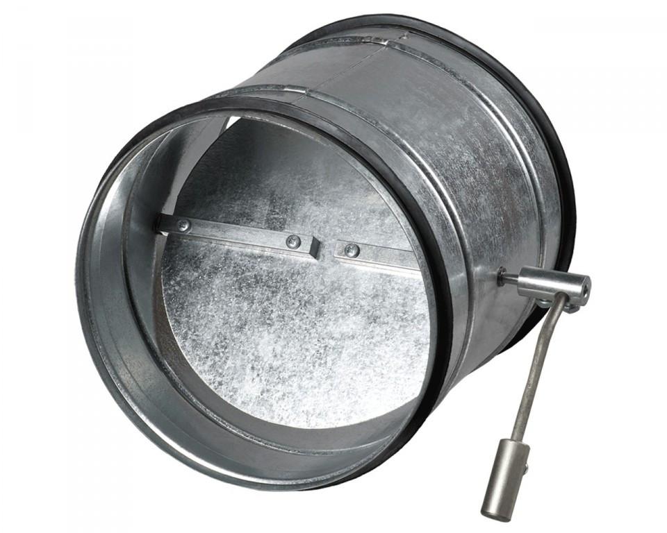 ВЕНТС КОМ1 450 - обратный клапан для круглого канала