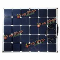 100Вт 18V Полуэластичное панели солнечных батарей для с.в. лодки домой кемпинга зарядное устройство