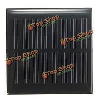 4в 0.36w 90мА 70x70x3.0мм монокристаллический эпоксидной панели солнечных батарей
