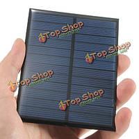 6V 1.1W монокристаллического 200мА мини-солнечные фотоэлектрические панели