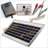 12v 10Вт 330 х 300 х 20мм поликристаллических солнечных панель с кабелем 2м