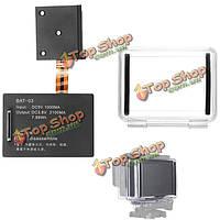 2100мАh расширенный BackPac батареи с корпусом случае лазейкой для GoPro HD Hero 4