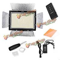Вспышка yongnuo yn900 5500к 7200lm LED видео-легкие панели с адаптером питания