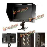 Ф&V ФО Ф1 7 дюйма HDMI LCD на камеру монитор с козырек от солнца