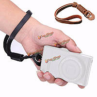 Универсальная камера кожа рука ремешок для Canon Nikon Olympus Sony DSLR Panasonic