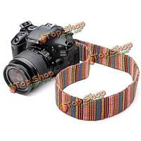 Цвет шеи плечевой ремень для DSLR Nikon и Canon и других камер