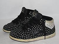 NEXT _ стильные кроссовки _ 23.5 _Замша