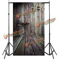 3x5ft кирпичной стены деревянные напольные фотографии фоны фото фон студии реквизита