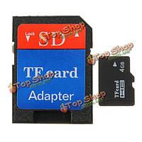 4Гб микро-SD TF для карты памяти SDHC Secure цифровых высокой скорости карты флэш-памяти