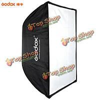 Godox 50 x 70см портативный отражатель зонтик студия софтбокс для SPEEDLIGHT вспышки света