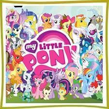 Игрушки с героями мультфильма My Little Pony
