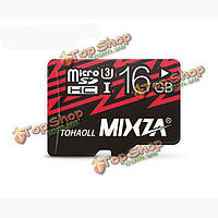 Карта памяти Micro SD 16GB SDHC CLASS10 Mixza U3