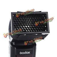 Godox HC-01 растровая решетка диффузора софтбокс для Canon Nikon Speedlite вспышки Godox YONGNUO Pentax