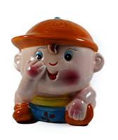 Копилка ребенок из керамики, детская 130x150x100