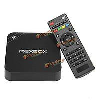 Nexbox N9 rk3229 4k Коди 16.0 предустановленным Андроид  4.4.4 1G/8G Долби DTS TV Box Андроид  мини-ПК