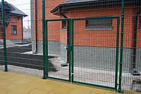 """Ворота, ограждение - секционный забор, сварная сетка,  """"Техна-Эко"""" 1480х3000 мм"""