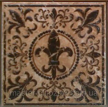 Напольная вставка DeLis коричневая