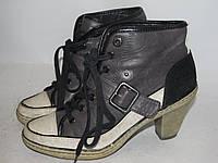 TAMARIS _ стильные ботинки _ 38р _ ст. 24 см _ н02