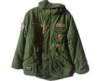 Куртка детская цвета хаки