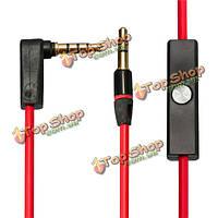 Замена кабеля с удаленного управления разговоры и mic аудио свинца для ударов по dr dre