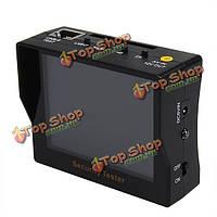 F2081a 3.5-дюймов CCTV безопасности тестер с ADSL обнаружения видеомонитор