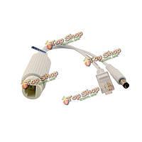 ESCAM s2 10 PoE/100м IEEE802.3at сплиттер PoE кабель для IP-камеры