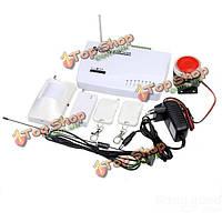 GSM беспроводной охранной авто дозвона система голосовой безопасности дистанционной сигнализации
