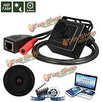 Цифровая видео камера HD 720p 3.6мм проводная мини CCTV IP сети CMOS