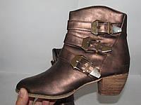 BAI WEI _ стильные ботинки _ 37р _ст. 23.5 _Н06