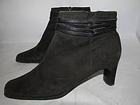 MORE&MORE _ стильныек ботинки_ Замша  38р_24.5