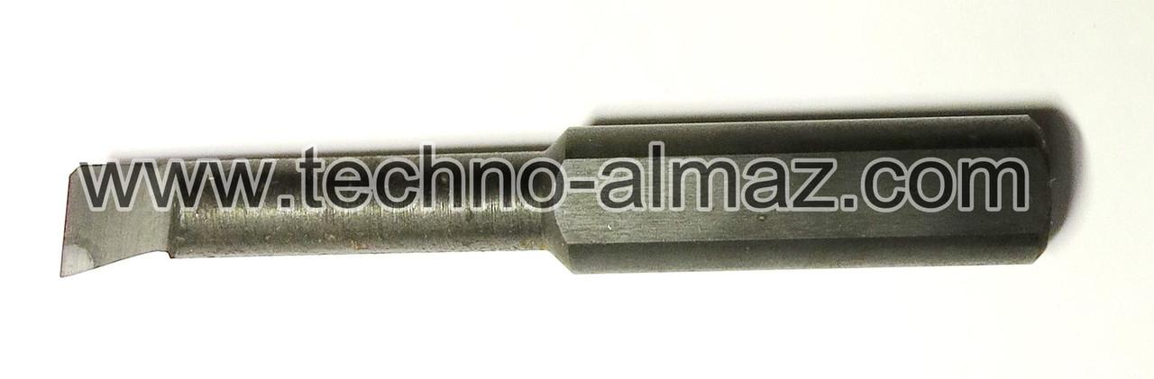 Резец токарный 268000 (осн. Гексанитом-Р) D-12 мм. L-80 мм.