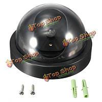 Поддельные открытый крытый флеш LED охранная купольная камера безопасности