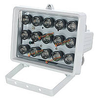 Подсветка камеры безопасности инфракрасного света IR 328ft 15 LED 12v лампа ночного видения