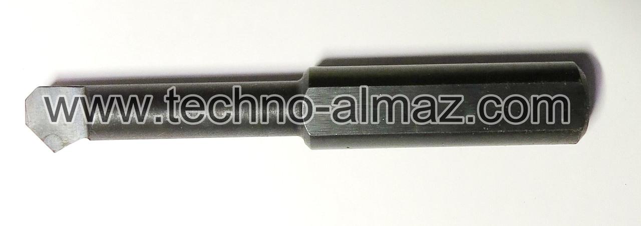 Резец токарный 269000 (осн.Гексанитом-Р) D-12 мм. L-80 мм.