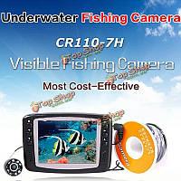 Cr110-7h 900tvl 30м подводного HD видео камеры рыбы искатель moniting ЖК-экран