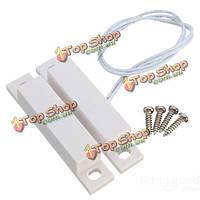 Проводной датчик двери окна домашней сигнализации магнитный выключатель с винтами