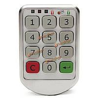 Цифровой код электронный механизм блокировки ручки входной двери без ключа клавиатуры пароль
