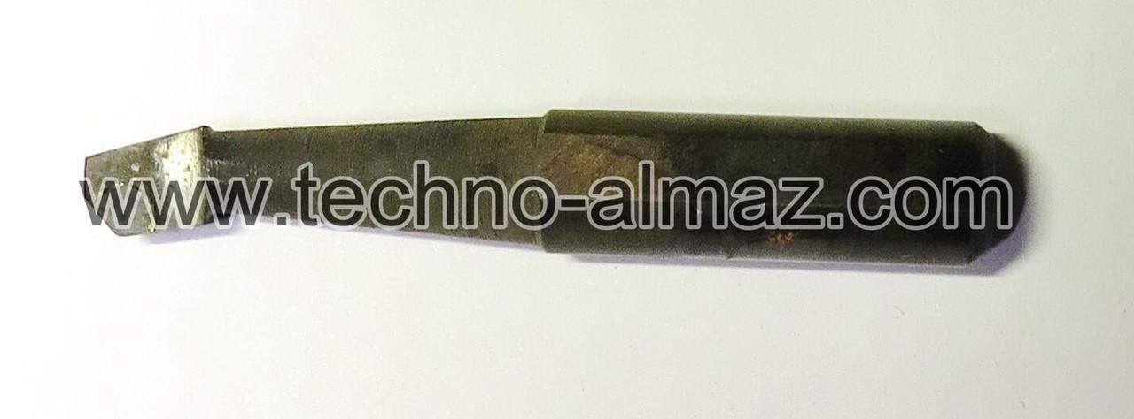 Резец токарный 601604 (осн. Гексанитом-Р) D-8 мм. L-50 мм.