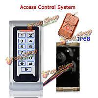 Эннио sy5000wr двери RFID Бесконтактный контроллер доступа водонепроницаемый IP68 блокировка сигнализация + пульт дистанционного управления