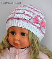 Шапка ажурная Веер для девочки, фото 1