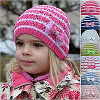 Весенняя легкая детская шапочка для девочки