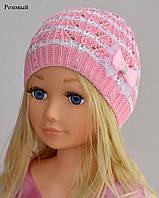 Ажурная шапка для лета на девочку