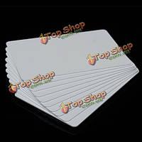 10шт NFC смарт-тег карты Метки S50 IC 13.56 Mifare IC копир прочитать написать белые карточки