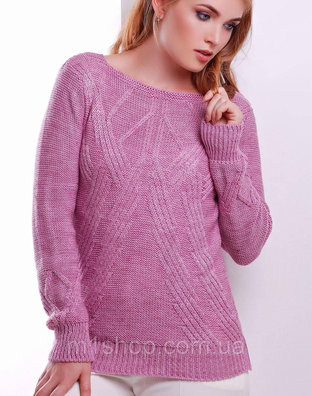Женский вязаный свитер (16 mrs)